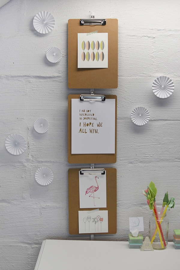 Organize your Craft Room with simple storage and easy tips! Delineate Your Dwelling craft space tour