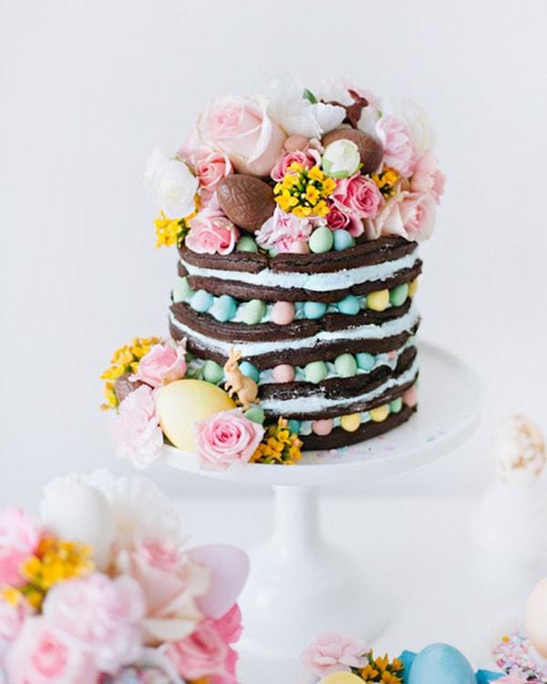 Easter Waffle Cake