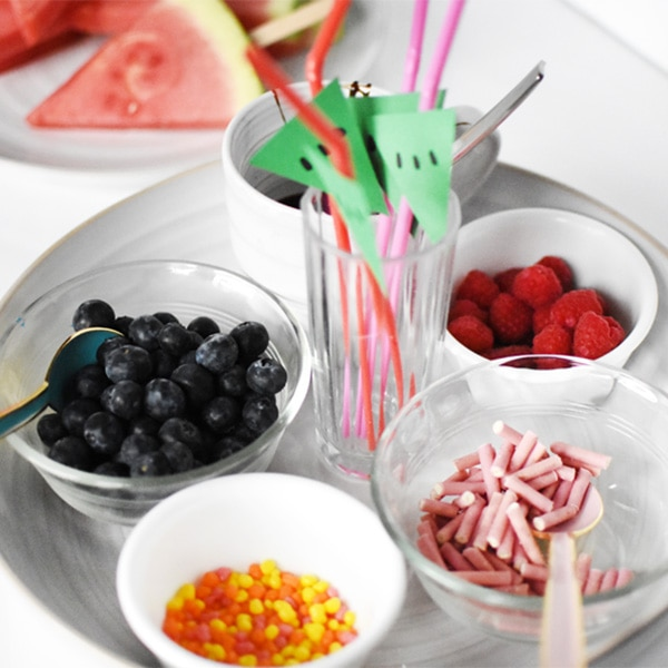 1 Kid Friendly Watermelon Popsicle Bar