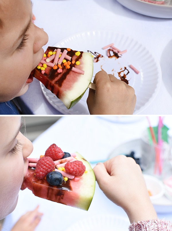 Creating a fun and tasty Kid Friendly Watermelon Popsicle Bar, Delineate Your Dwelling