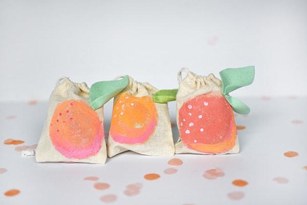 Mini-Peach-Painted-Bags