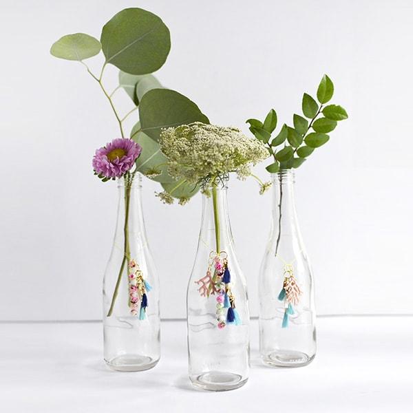 Flower Vase Charms