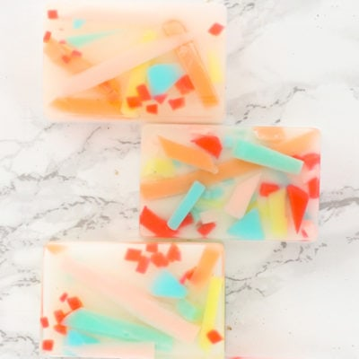 1 Colorful Abstract Art Soap
