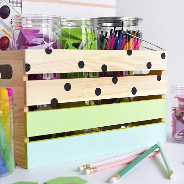 Kid's Art Supply Crate