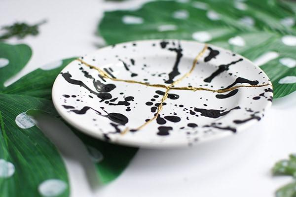 Art of Kintsugi Plate 2