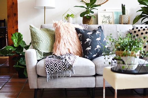 Gorgeous Gray Modern Burrow Modular Sofa, Delineate Your Dwelling