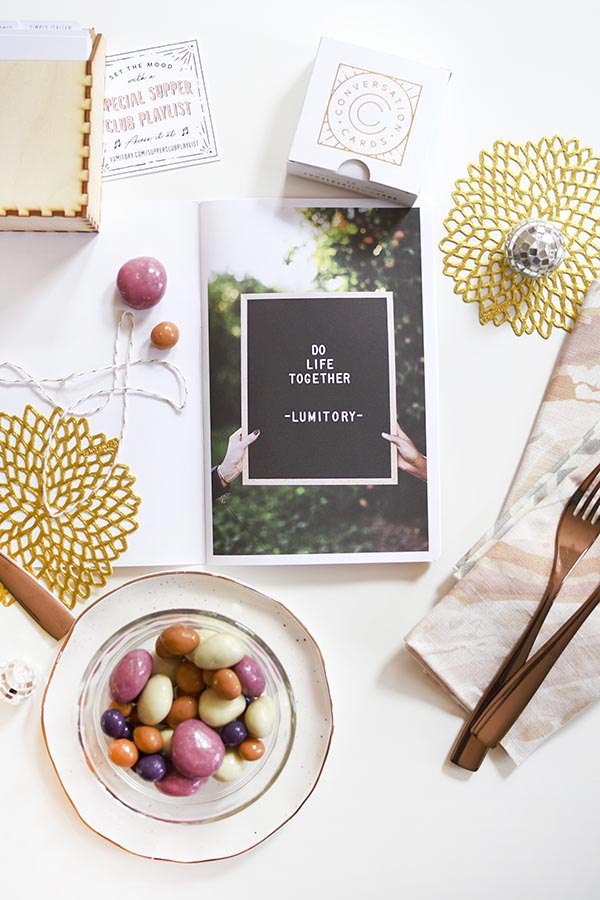 Create a friendly Supper Dinner Club with friends, Delineate Your Dwelling