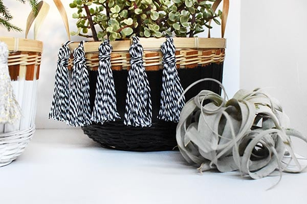 Tassel Baskets
