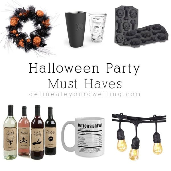 1 Halloween Party Must Haves