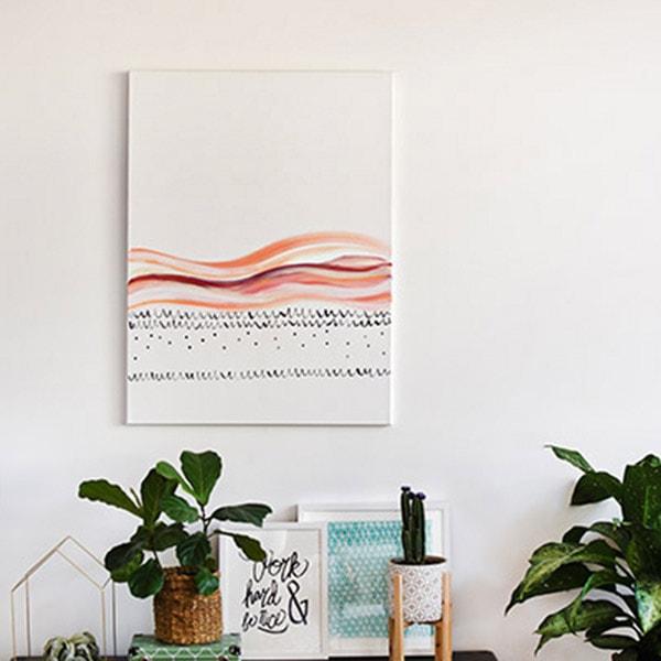 DIY Large Scaled Art