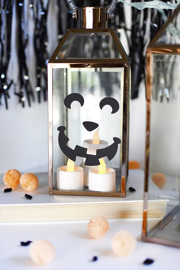 DIY Fall Pumpkin Lanterns, Delineate Your Dwelling