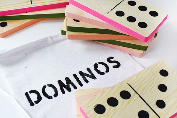 Fun to make, easy to play!! DIY Outdoor Domino game, Delineate Your Dwelling