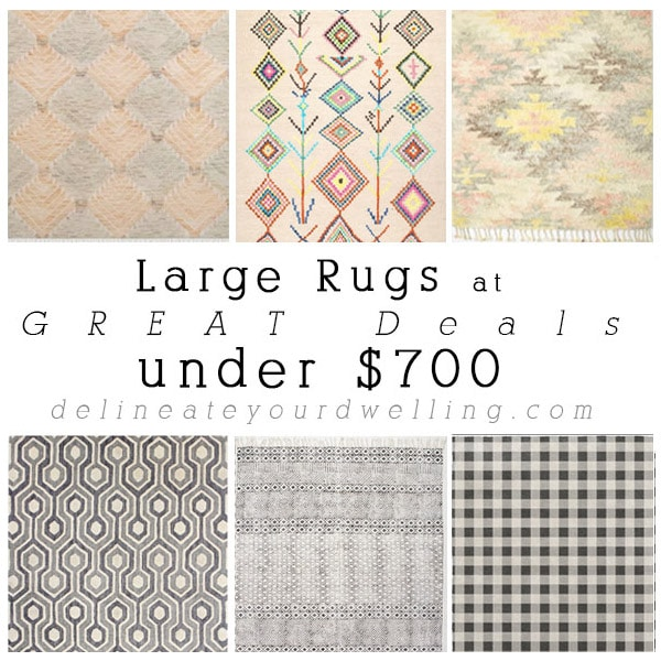Large Rugs at GREAT Deals under $600