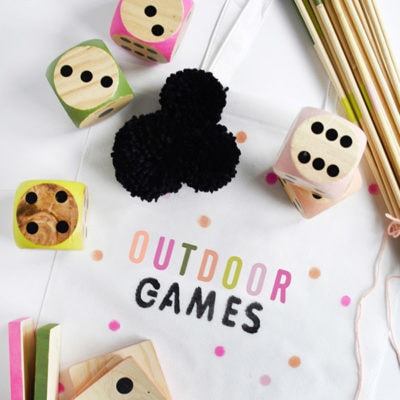 1 Outdoor Games Bag
