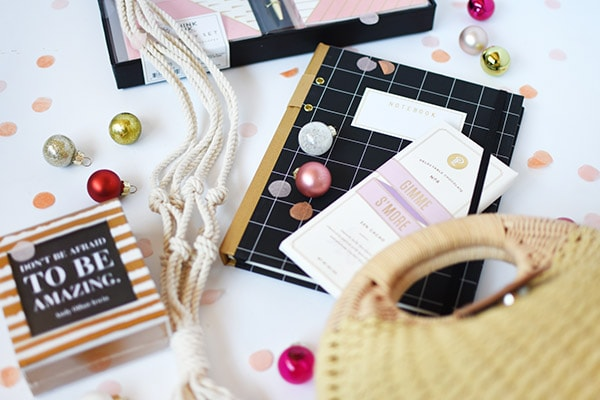 My VERY Favorite Things : notecards, journals, chocolate, quotes, rattan purse! Delineate Your Dwelling