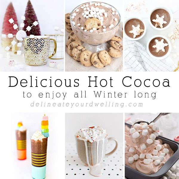 Delicious Hot Cocoa all Winter long