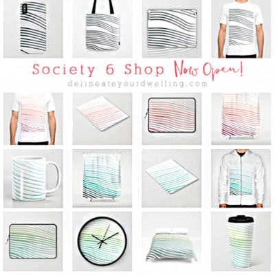 1a Society6 Products