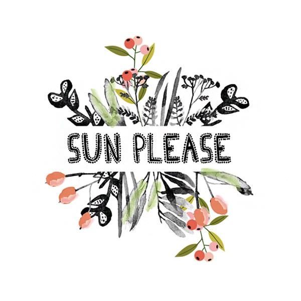 Sun Please print