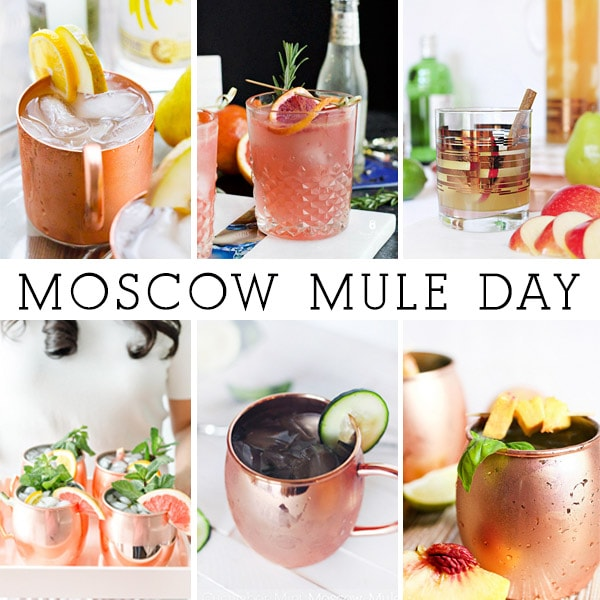 Everyday should be Moscow Mule day